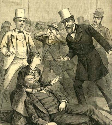 James A. Garfield is Assassinated!