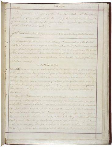 Congress passes Fourteenth Amendment