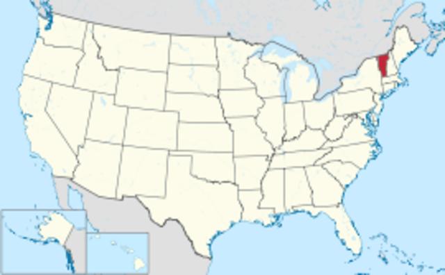 Vermont--Number 14--George Washington