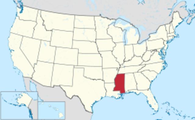 Mississippi--Number 20--James Monroe
