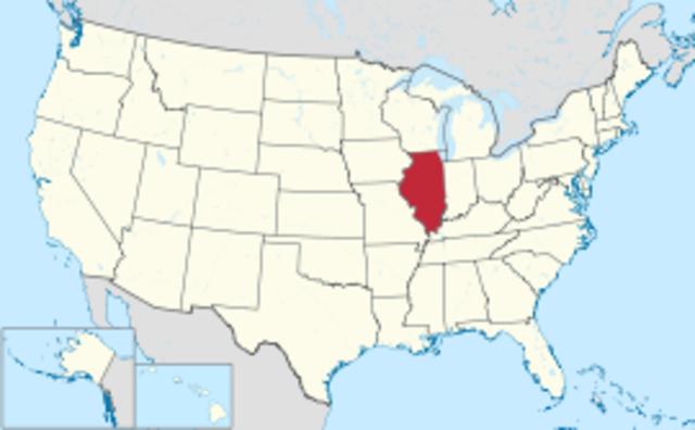 Illinois--Number 21--James Monroe