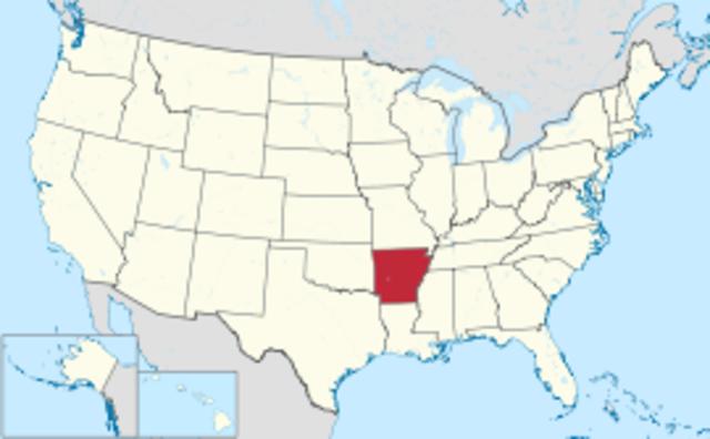 Arkansas--Number 25--Andrew Jackson