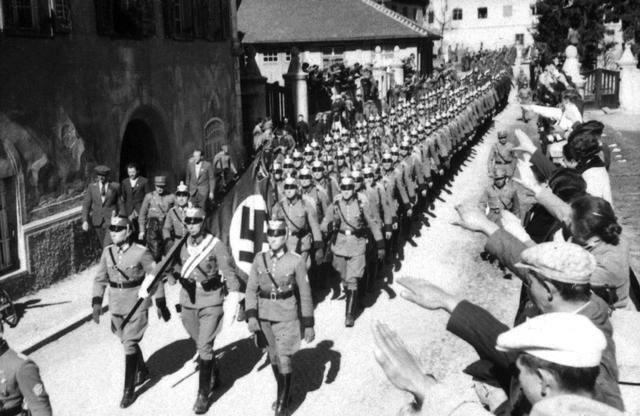 Germany's Anschluss with Austria