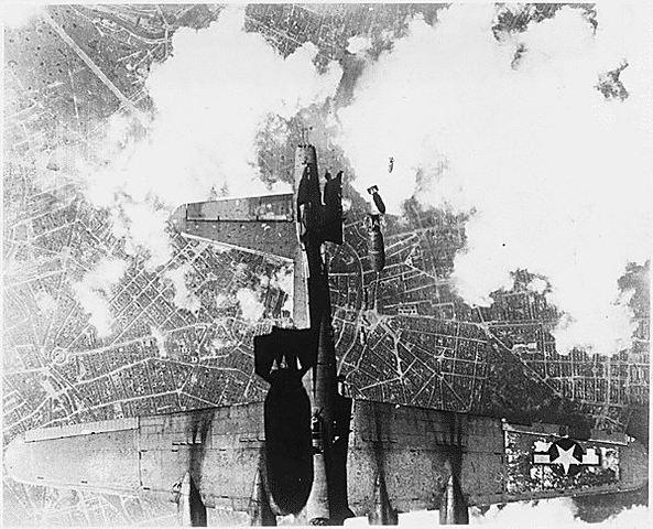 First Air Raid on Berlin