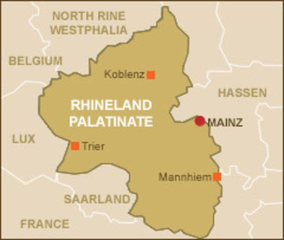 Germany reoccupies the Rhineland