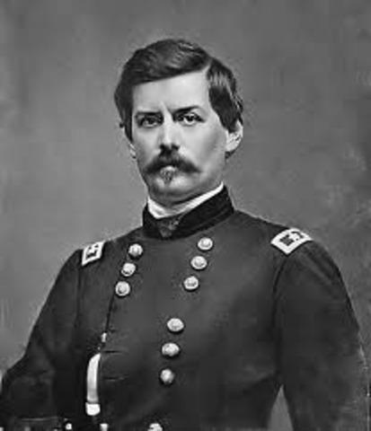 McClellan becomes general