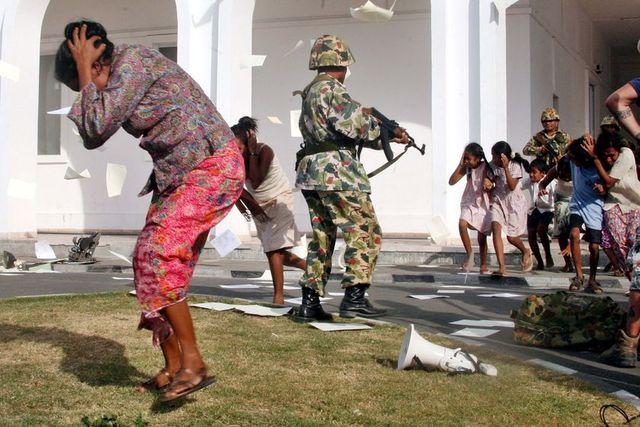 Indonesia Invades
