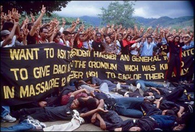 Massacre in Dili