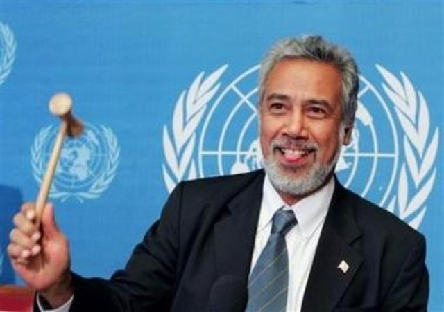 Gusmão announced President