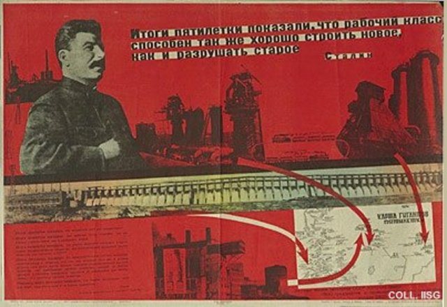 stalins 5 year plans