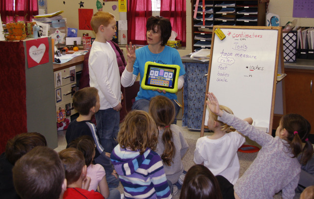 Purchase Tablets and give to teachers