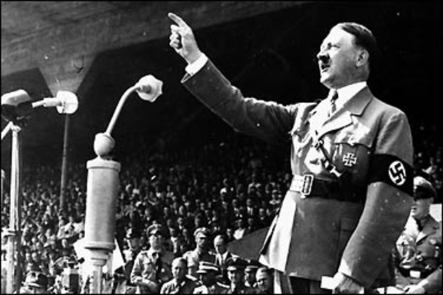 Hitler sworn in as Chancellor of Germany