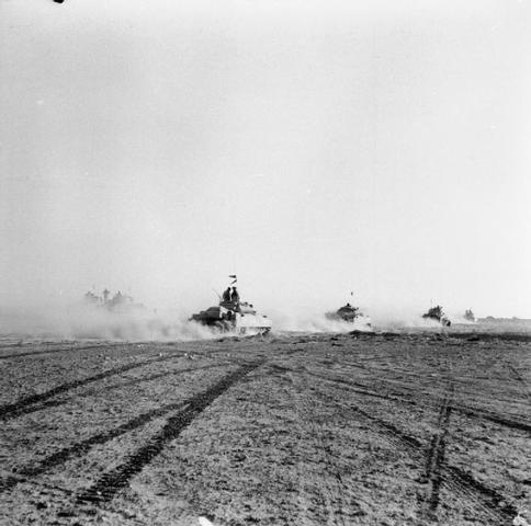 German forces were defeated in the second battle of El Alamein