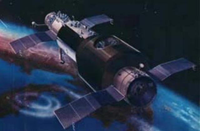 Salyut 1 launch