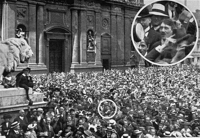 Hitler moved to Munich