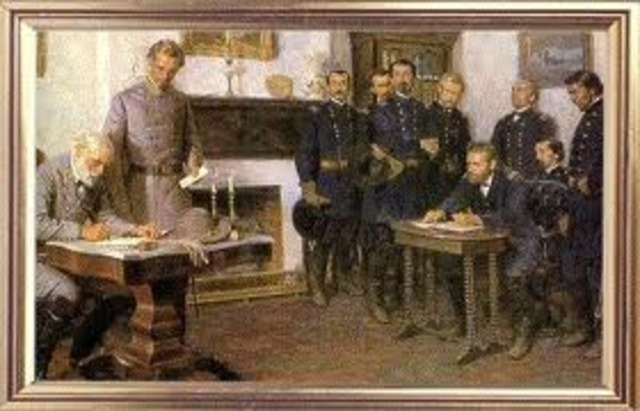 Confederacy Surrenders