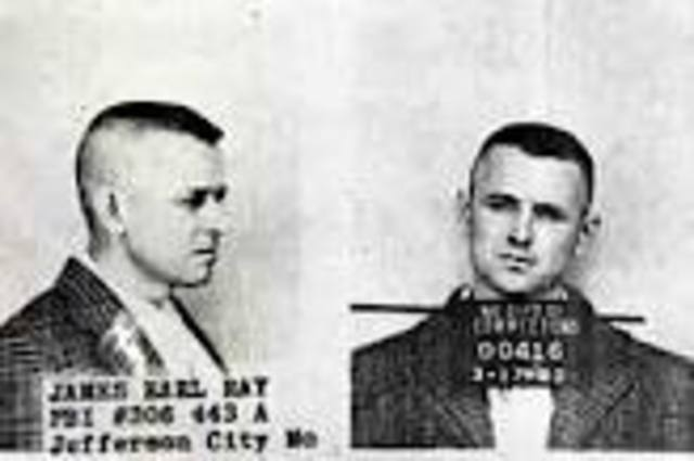 Earl Ray is Arrested