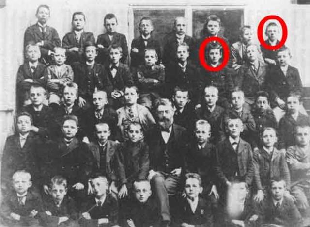 Hitler Realschule in Linz a technical high school