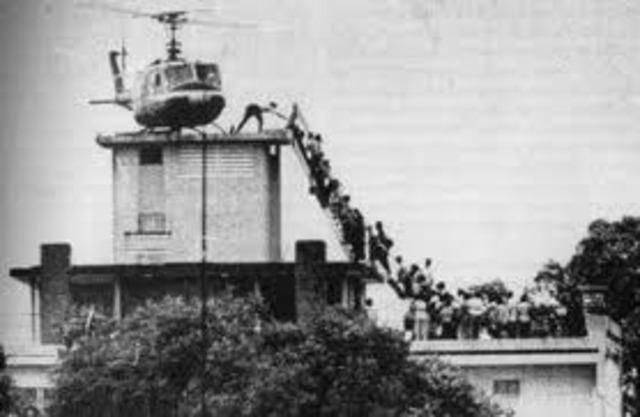 North Vietnam Captures Saigon.