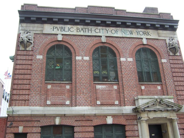 First public bathroom was opened in NYC