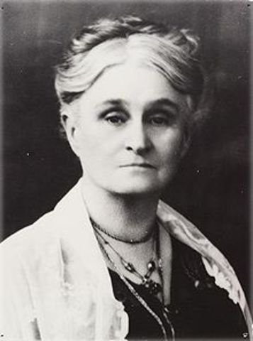 Edith Cowan Becomes the First Woman Elected to an Australian Parliament