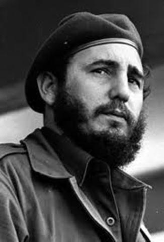 Fidel Castro Gains Control of Cuba