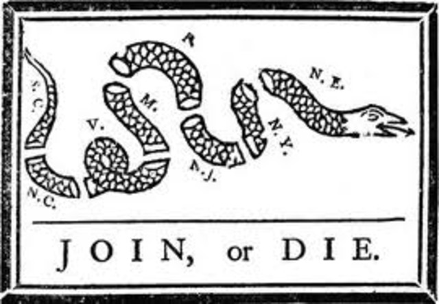 Plan of Union by Ben Franklin