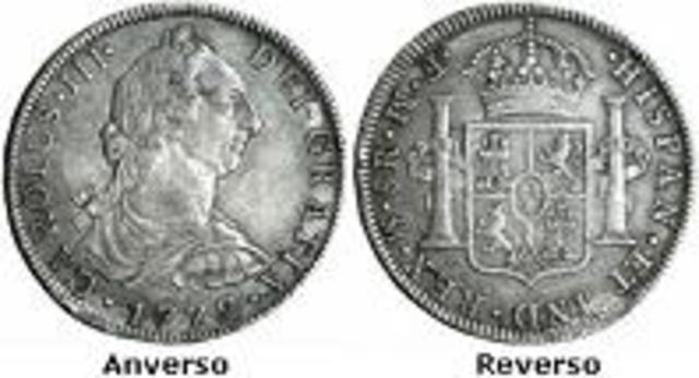 Moneda de BustoCarlos III - Fernando VII (1772 - 1821)