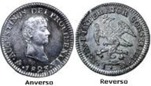 Acuñación imperial de IturbidePrimer Imperio (1822 - 1823)