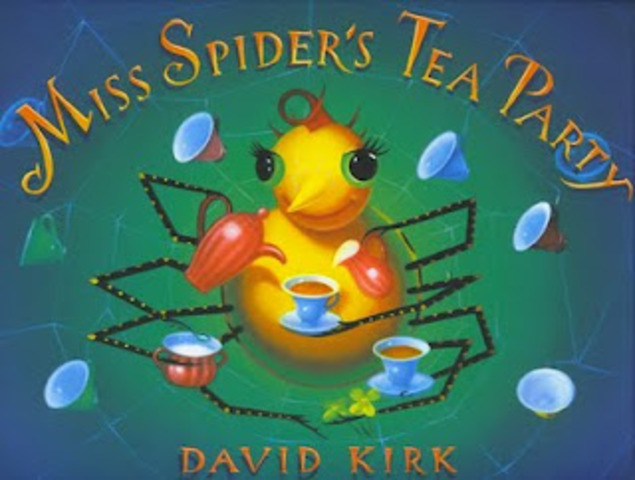 Favorite Book: Miss Spider's Tea Party