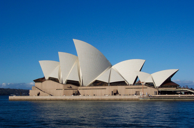 The Sydney Opera House is Opened