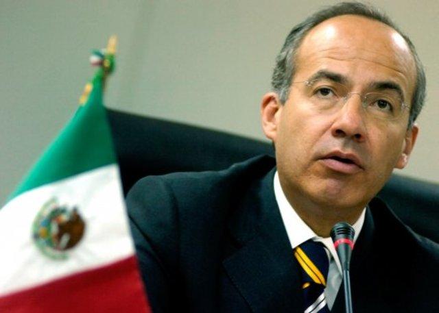 Felipe Calderon Elected President