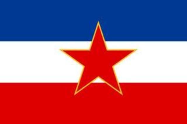 Nueva constitución de Yugoslavia.