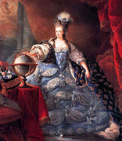 Marie-Antoinette henrettes