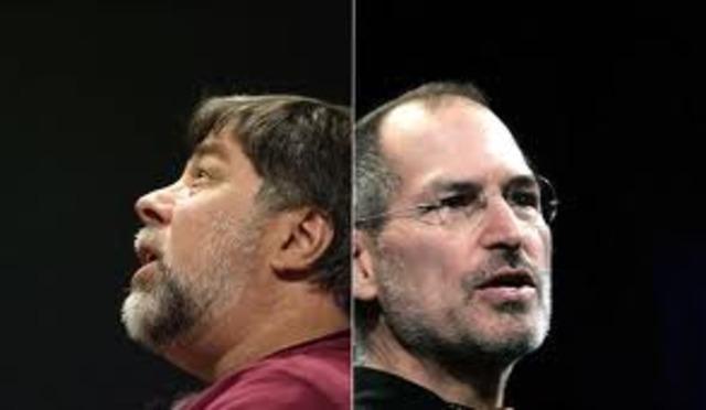 Apple Computers was founded Steve Wozniak and Steve Jobs