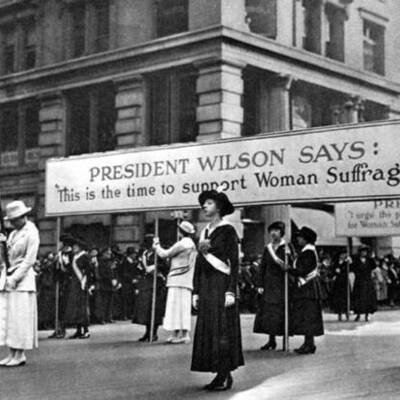 A History of the American Women Suffragist Movement timeline