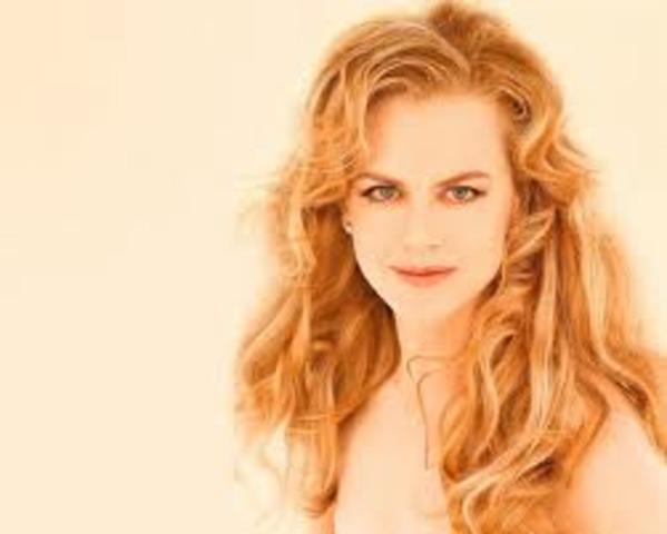 Nicole Mary Kidman