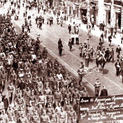 The Russian Revolution & The Fall of the Tsar timeline