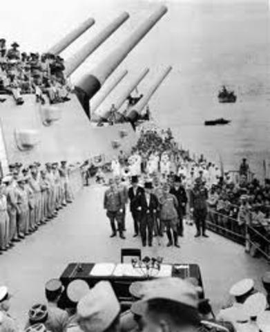 WWII ends: Japan surrenders