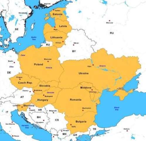 Hungary, Romania and Slovakia join Axis