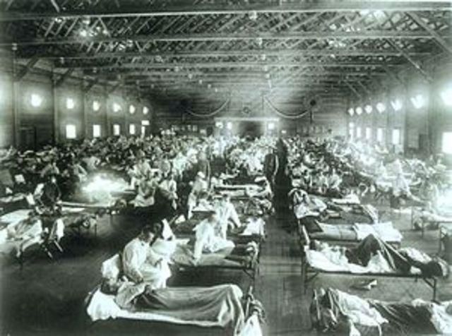 Influenza Epidemic after World War 1