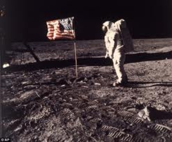 First Human on the Moon