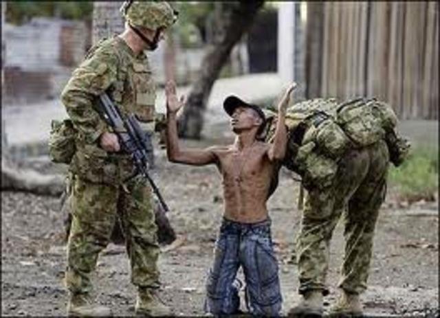 Australian Troops Go To East Timor