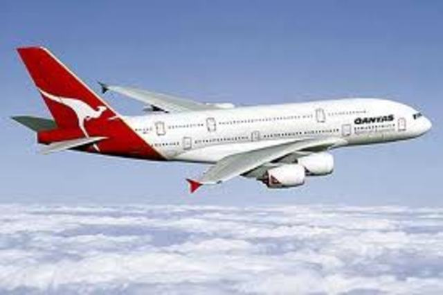first QANTAS Planes