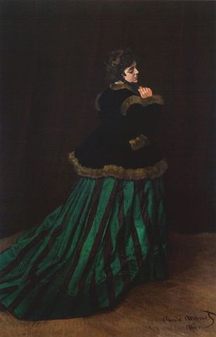 The women in the Green Dress
