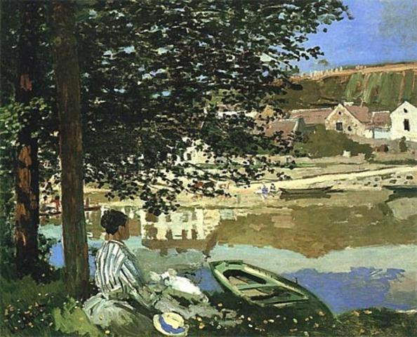 Seine jõe kaldal