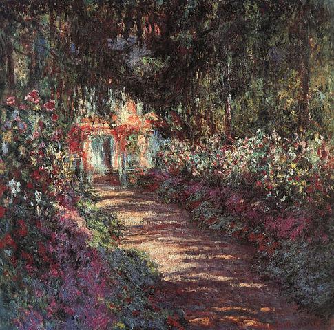 The Garden in flower