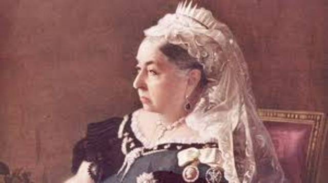 Queen Victoria ascends to the throne