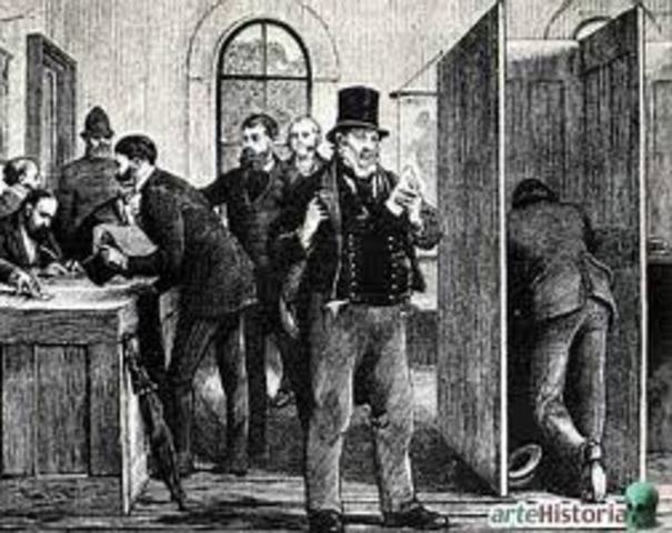 Use of Secret Ballot in Great Britain passes
