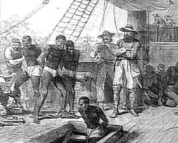 Slavery is banned in all British colonies